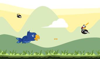 Album Flight Parrot Game